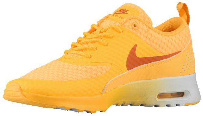 Günstig Nike Air Max Thea Atomar MangoMetallic SilberWeiß