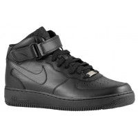 Nike Air Force 1 Mid Schwarz Herren Athletic Shoes