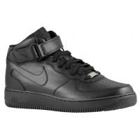 Nike Air Force 1 Mid Schwarz Herren Athletic Shoes