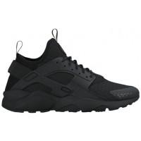 Nike Air Huarache Run Ultra Premium Schwarz Herren Running Schuhe