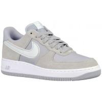 Herren Nike Air Force 1 Low Grau/Platin/Weiß Basketballschuhe