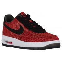 Nike Air Force 1 Low Crimson/Schwarz/Grün Herren Sneakers