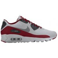 Nike Air Max 90 Ultra Essential Herrensneake Wolf Grau/Schwarz/Team Rot/Dunkel Grau