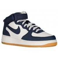Nike Air Force 1 Mid Obsidian/Sail/Braun Herren Trainers