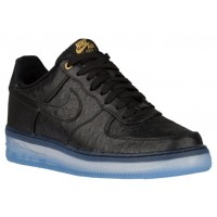 Nike Air Force 1 Comfort Luxury Schwarz Herren Sneakers