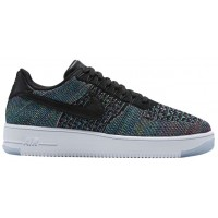 Nike Air Force 1 Ultra Flyknit Low Schwarz/Blau/Grün/Rosa Herren Trainers