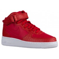 Nike Air Force 1 Mid Lv8 Rot/Weiß Herren Sneaker