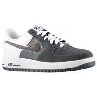Herren Nike Air Force 1 Low Nubuck Schläue/Dunkel Grau Sneakers