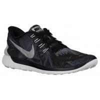 Nike Free 5.0 2015 Schwarz/Reflektierend Silber/Rein Platin Herren Runningschuh