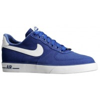 Nike Air Force 1 Ac Dunkel Royal Blau/Weiß Herren Trainers