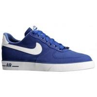 Nike Air Force 1 Ac Dunkel Royal Blau/Weiß Herren Trainers