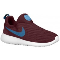 Nike Roshe One Slip On Dunkel Burgundy/Anthrazit/Team Rot/Riftblau Herren Sneakersnstuff