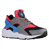 Nike Air Huarache Hell Crimson/Cool Grau/Schwarz/University Blau Herrenschuh