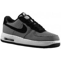 Herren Nike Air Force 1 Low Elite Textile Weiß/Schwarz Trainers