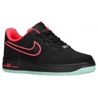 Nike Air Force 1 Low Schwarz/Crimson/Grün Herren Basketball