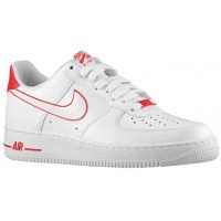 Nike Air Force 1 Low Weiß Rot Herren Athletic Shoes