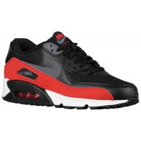 Nike Air Max 90 Essential Dunkel Grau/Schwarz/University Rot Herrensneake