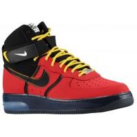 Nike Air Force 1 High Supreme Bakin' University Rot/Schwarz Herren Sneakers