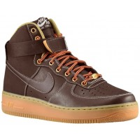 Nike Air Force 1 High Herren Athletic Shoes Barock- Braun/Sail/Metallic Bronze