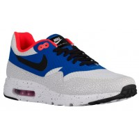 Herren Nike Air Max 1 Ultra Essential Weiß/Uni Royal/Reflect Silber/Schwarz Schuhschaft