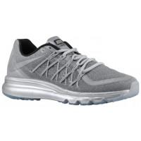 Herren Nike Air Max 2015 Premium Reflektierend Silber Turnschuhe