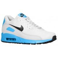 Nike Air Max 90 Premium Comfort Em Rein Platin/Schwarz/Blau Held Herren Sneakers