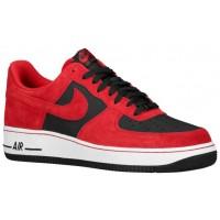 Nike Air Force 1 Low Rot/Schwarz Herren Sportschuheschuhe