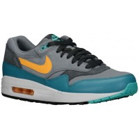 Nike Air Max 1 Essential Herren Sportschuhe Cool Grau/Catalina/Anthrazit/Laser Orange
