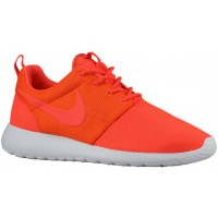Nike Roshe One Hell Crimson/Team Orange/Weiß Herren Laufschuhe