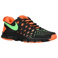 Nike Free Trainer 5.0 Weave Schwarz/Neo Hellgrün/Gesamt Orange Herren Schuhschaft