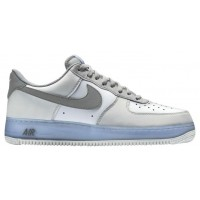 Nike Air Force 1 Low Weiß/Grau/Hellblau Herren Sneaker