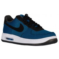 Herren Nike Air Force 1 Low Elite Textile Foto Blau/Schwarz Trainers