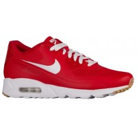 Nike Air Max 90 Ultra Essential Herren Turnschuhe Weiß/University Rot