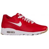 Nike Air Max 90 Ultra Essential Herren Turnschuhe Weiß/University Rot