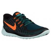 Nike Free 5.0 2015 Schwarz/Gesamt Orange/Licht Retro Herrenschuh