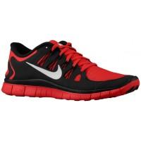 Nike Free 5.0+ Herren Sneakers Gym Rot/Schwarz