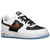 Nike Air Force 1 Low Herren Sneakers Weiß/Kupfer/Schwarz