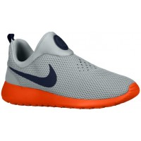 Nike Roshe One Slip On Silber Wing/Team Orange/Cool Grau/Obsidian Herren Turnschuhe