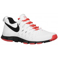 Nike Free Trainer 5.0 Weave Weiß/Lt Crimson/Schwarz Herren Sneakers