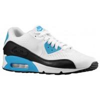 Herren Nike Air Max 90 Og Em-Mesh Weiß/Schwarz/Laser Blau Sneakers