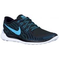 Nike Free 5.0 2015 Schwarz/Dunkel Elektrisch Blau/Blau Lagoon Herren Sportschuhe