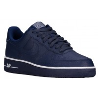 Nike Air Force 1 Low Herren Athletic Shoes Loyal Blau/Weiß