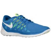 Herren Nike Free 5.0 Militär Blau/Polarized Blau/Midnacht Marine/Weiß Laufschuhe