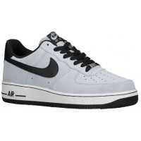 Herren Nike Air Force 1 Low Suede Wolf Grau/Schwarzes/Weiß Sneakersnstuff |