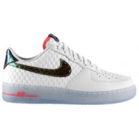 Nike Air Force 1 Low Herren Athletic Weiß/Metallic Gold/Hyper Punch