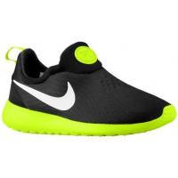 Nike Roshe One Slip On Herrenschuh Schwarz/Volt/Weiß