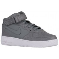 Nike Air Force 1 Mid Lv8 Cool Grau/Weiß Herren Sneakers