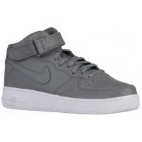 Nike Air Force 1 Mid Lv8 Cool Grau/Weiß Herren Sneakers