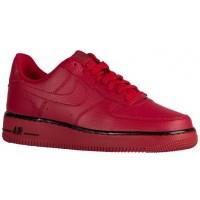 Herren Nike Air Force 1 Low Rot/Schwarz Sneakers