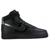 Nike Air Force 1 High Lv8 Schwarz/Metallic Gold Herren Sportschuheschuhechuhe